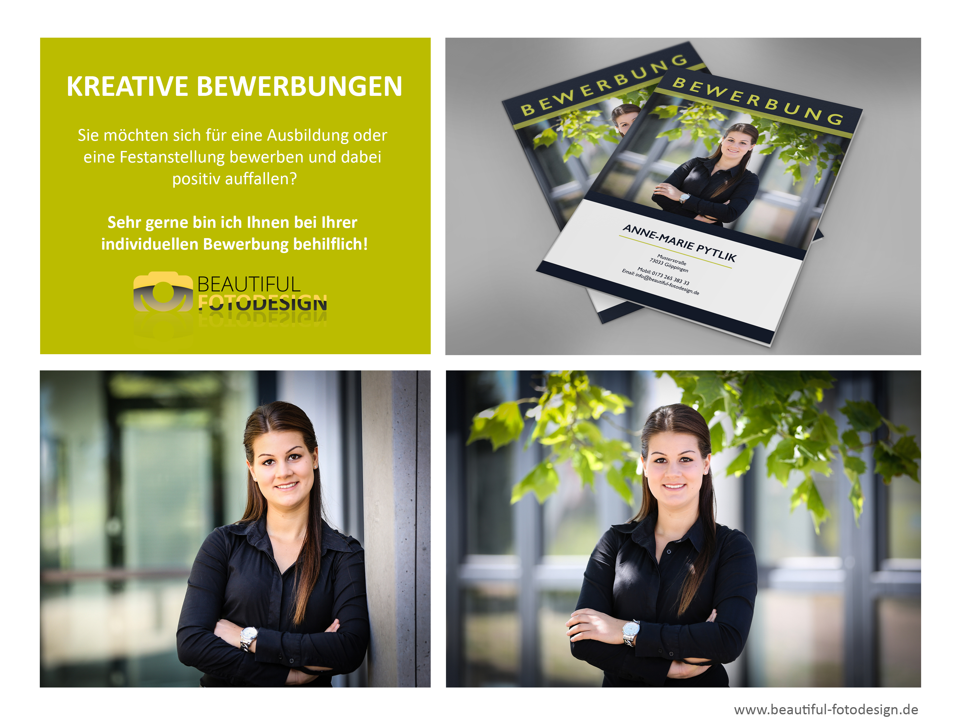 Kreative Bewerbungen - Beautiful Fotodesign