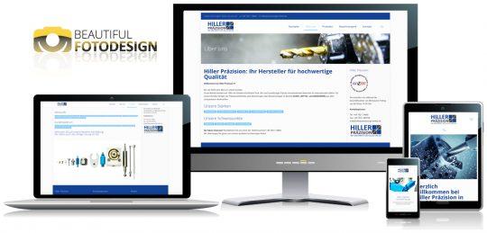 Hiller Präzision Responsive Design