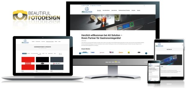 Internetseite AG Solution